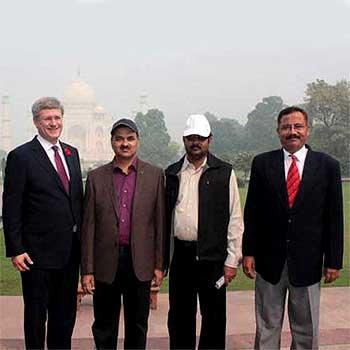 Former Prime Minister of Canada - Stephen Harper, TajMahalTourGuide.com