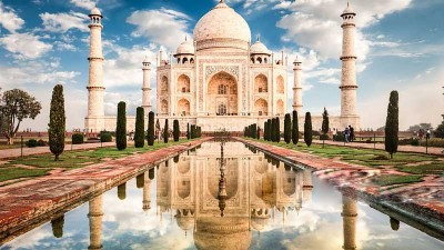 Taj Mahal Agra Fort Private Sunrise Tour From Delhi